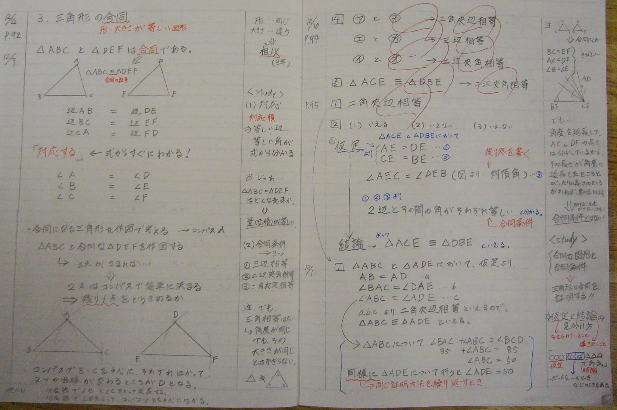 授業実践記録(数学) : 数学 関数 問題 : 数学