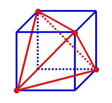 この正四面体の体積はいくら ... : 体積の計算方法 : すべての講義