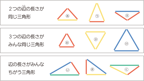 二等辺三角形と正三角形