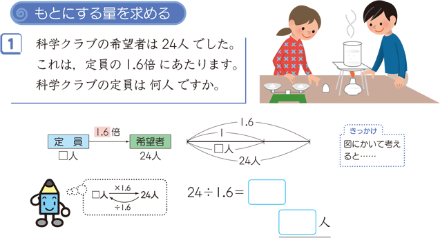 割合の3用法 算数用語集