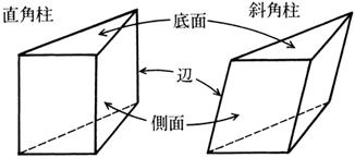 角柱と円柱|算数用語集